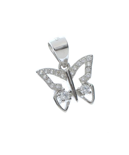 Pandantiv fluturas argint