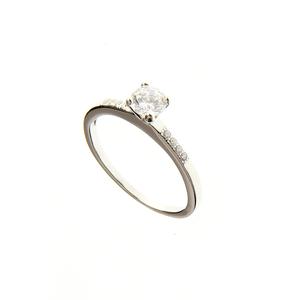 Inel de logodna din argint - 54