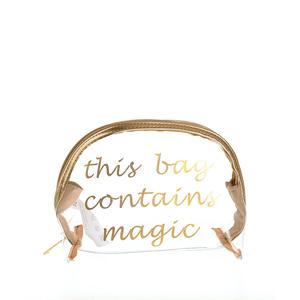 Portfard transparent cu magie