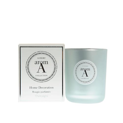 Lumanare LUXURY parfum sampanie