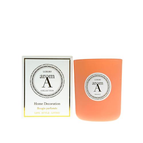 Lumanare LUXURY parfum portocale