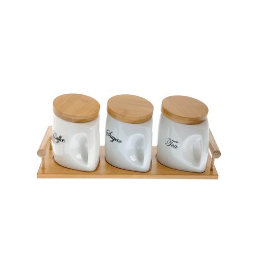 Set cu 3 recipiente pentru bucatarie