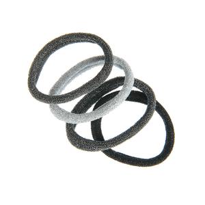 Set 4 elastice par cu sclipici