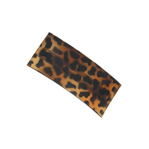 Clama dreptunghiulara print leopard