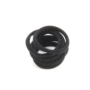 Set 6 elastice de par negre