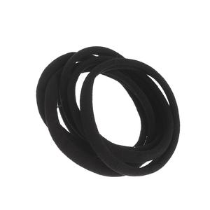 Set 6 elastice negre subtiri