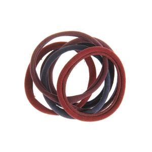 Set 6 elastice simple pentru par