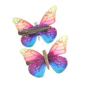 Agrafe par fluturi multicolori