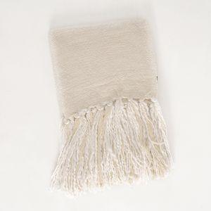 Patura lana cu ciucuri