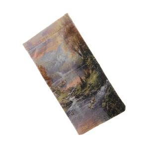 Etui flexibil imprimeu peisaj