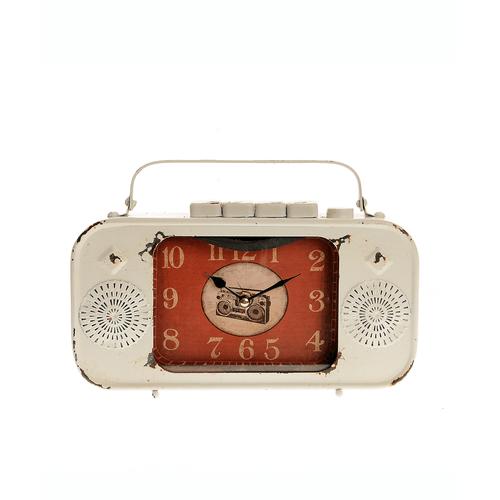 Ceas retro, radio stilizat