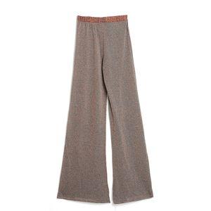 Pantaloni largi cu insertii stralucitoare