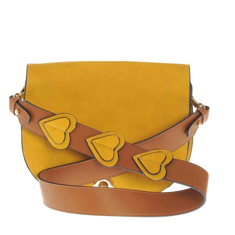 Geanta-saddle-galbena