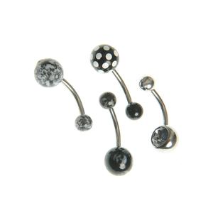 Set 4 modele body piercing