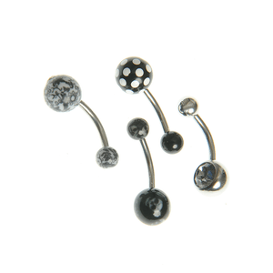 Set 4 modele body piercing
