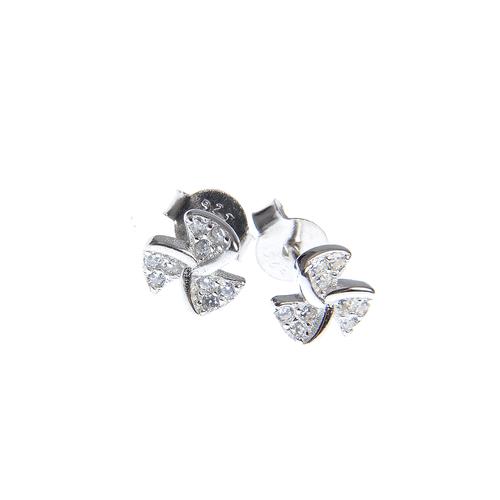 Cercei fini din argint