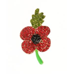 Brosa martisor floare stralucitoare