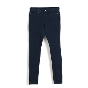 Pantaloni denim bleumarin