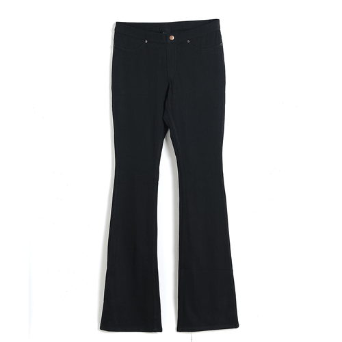 Pantaloni elastici negri  XS