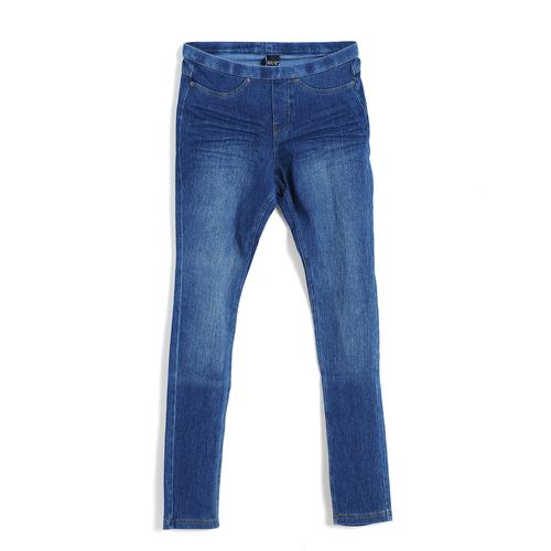 Pantaloni elastici din denim, XS