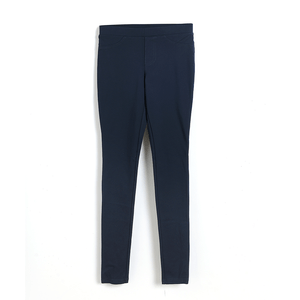 Pantaloni bleumarin mulati
