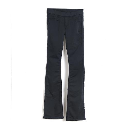 Pantaloni negri, talie elastica
