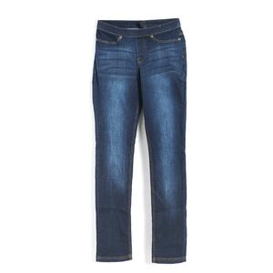 Pantaloni bleumarin din denim