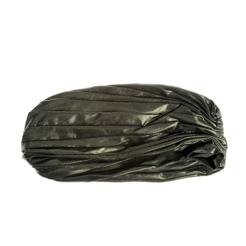Turban lucios, aspect plisat