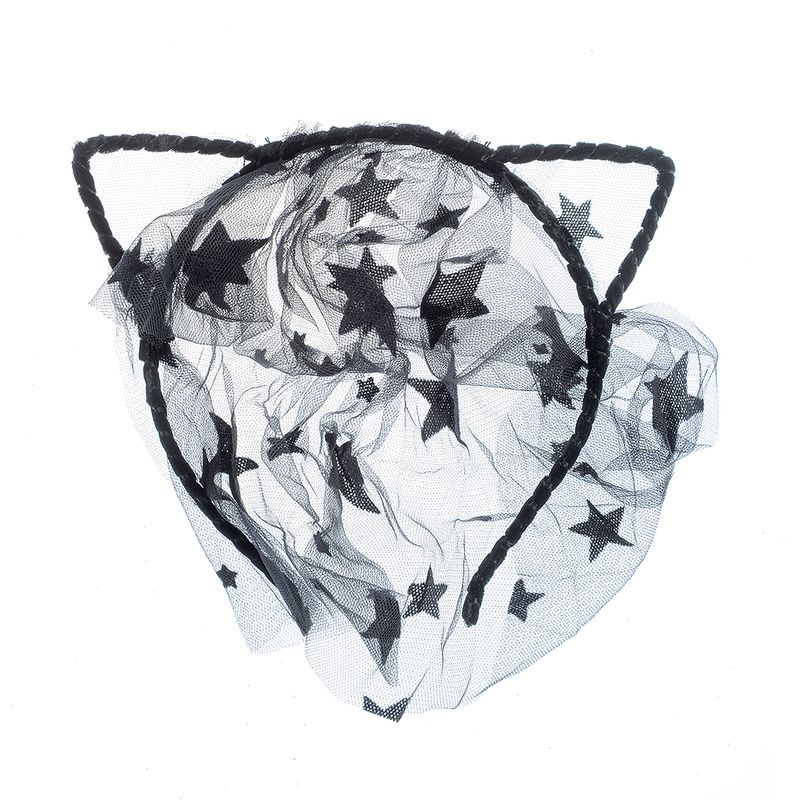 Bentita-cu-dantela-cu-stele-negre