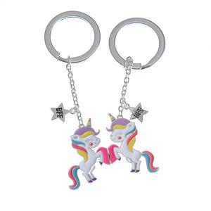 Set brelocuri BFF unicorni