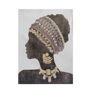 Tablou panza frumoasa femeie de culoare