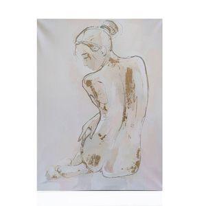 Tablou panza silueta nud