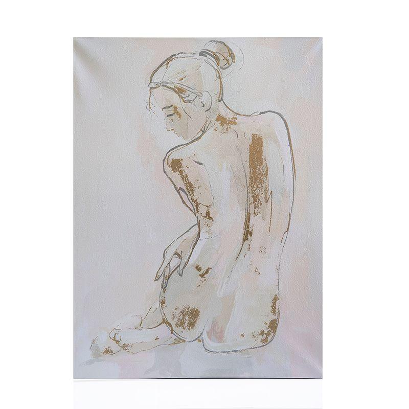 Tablou-panza-silueta-nud