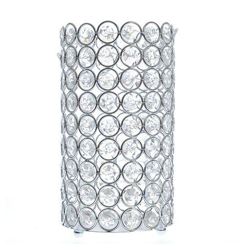 Suport lumanare cu cristale acrilice