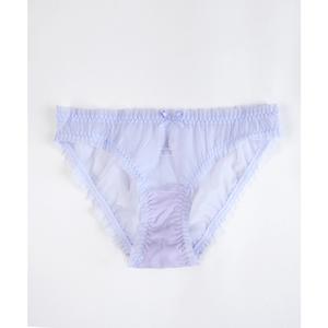 Chilot bleu transparent