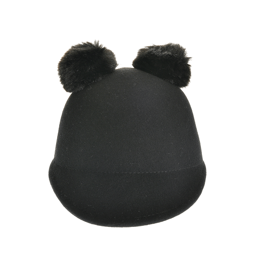 Palarie din lana neagra