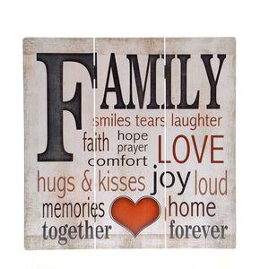 Tablou cu mesaj FAMILY