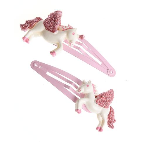 Set 2 agrafe cu ponei