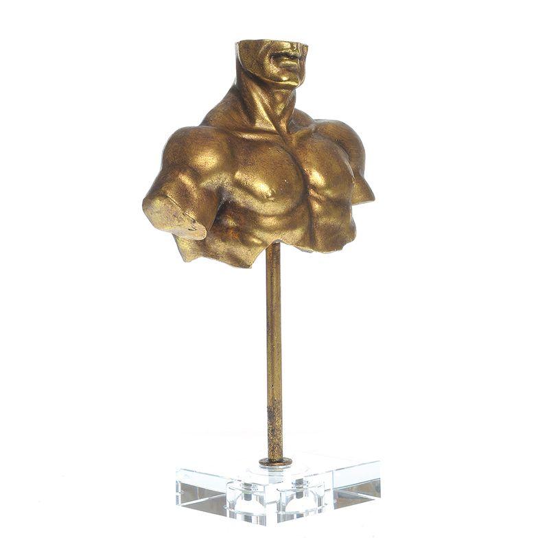 Statueta-bust-auriu