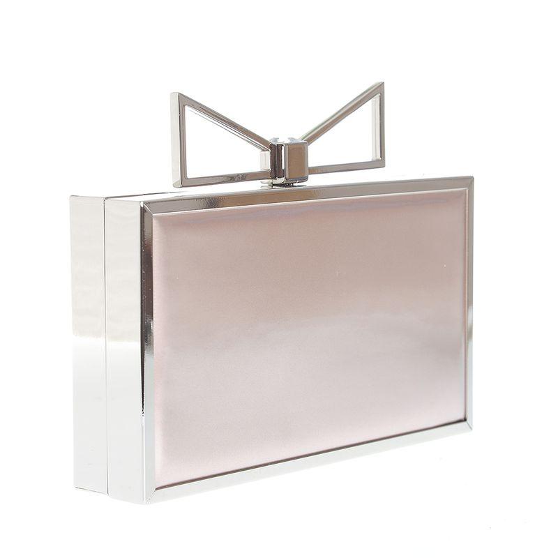 Clutch-roz-cu-funda-metalica