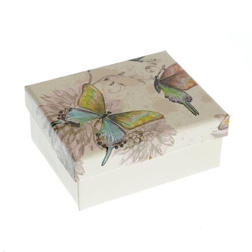 Cutie bijuterii cu fluturi