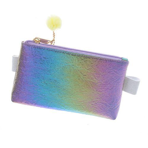 Borseta holografica rainbow