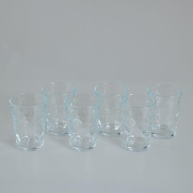Set-6-pahare-cu-buline-transparente