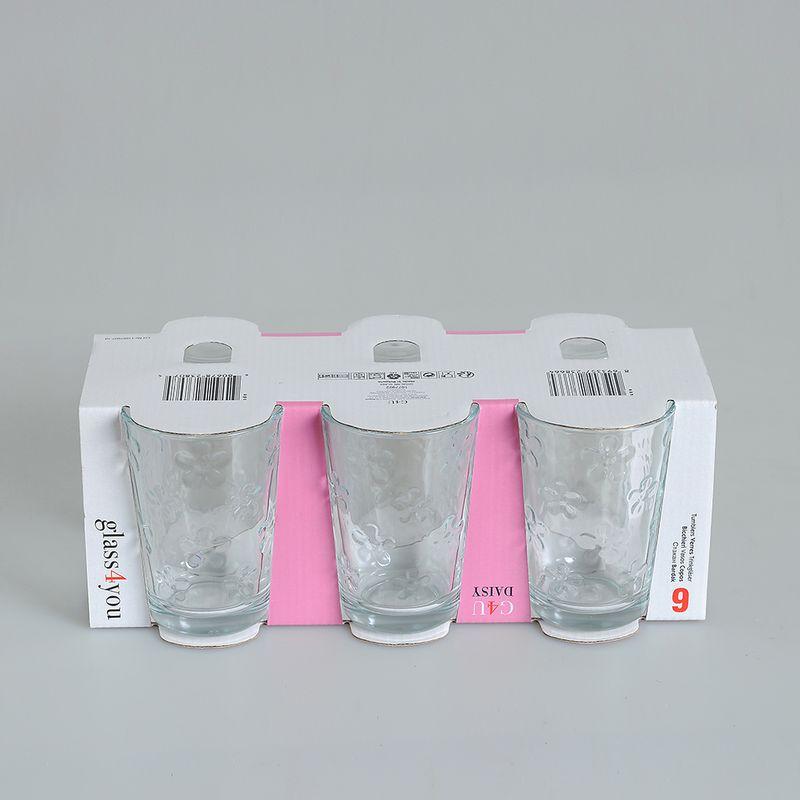 Set-6-pahare-transparente-cu-flori