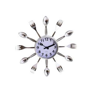 Ceas de bucatarie cu linguri si furculite