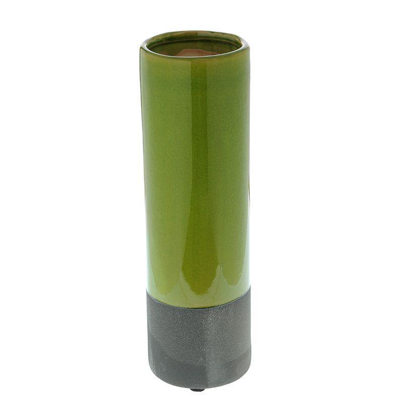Vaza-cilindrica-verde-30-cm