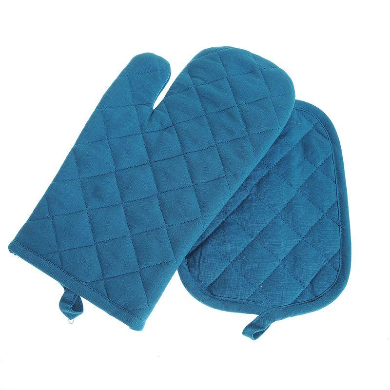 Set-albastru-manusa-si-suport