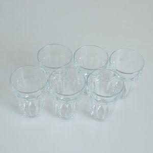 Set 6 pahare transparente