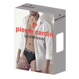 Chilot barbatesc Pierre Cardin alb