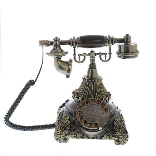 Telefon vintage cu disc